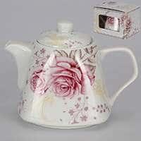 Заварочный чайник Розовые розы 700 мл