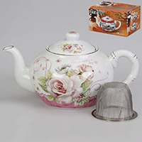 Заварочный чайник Нежность с металлическим фильтром 1 л