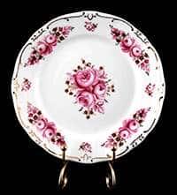 Роза Набор тарелок Weimar Porzellan 17 см из фарфора