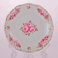 Роза Набор тарелок Weimar Porzellan 19 см из фарфора