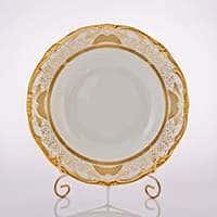Симфония Золотая Набор глубоких тарелок Weimar 24 см
