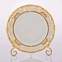 Симфония Золотая Набор тарелок Weimar Porzellan 19 см
