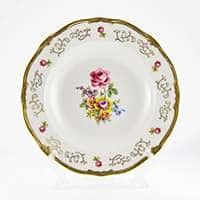 Санкт Петербург 1145 Набор глубоких тарелок Веймар Порцеллан 24 см