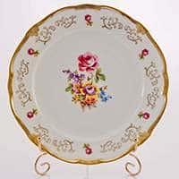 Санкт Петербург 1145 Набор тарелок Веймар Порцеллан 24 см