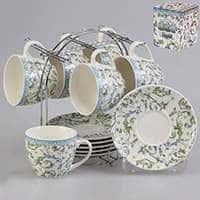 Набор чайный Patricia 12 предметов 240 мл с экзотическим узором