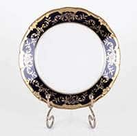 Ювел синий Набор тарелок Weimar Porzellan 15 см