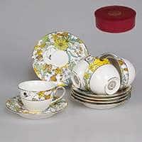 Настроение Графичный декор Набор чайный Patricia 12 предметов 220 мл