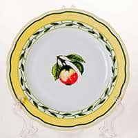 Роза 30200 Набор тарелок Thun 17 см из фарфора
