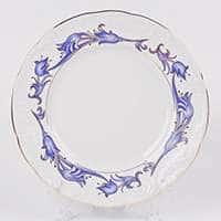 Тулип 62700 Синий Набор тарелок Thun 25 см
