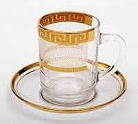 Каро Набор для чая Bohemia на 6 персон 12 предметов