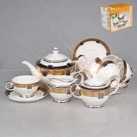 Дея с золотым декором Чайный сервиз Patricia на 6 персон 17 предметов