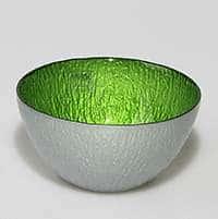 Салатник Monna Glass 14 см зеленый