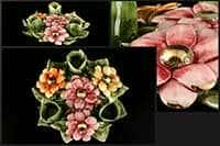 Цветы Подсвечник Lanzarin на 3 свечи 20x20x5 см