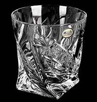 Набор стаканов Хрусталь Квадро прозрачный Комета