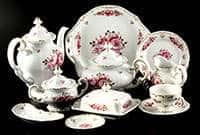 Роза Чайный сервиз Weimar 210 мл на 12 персон 55 предметов