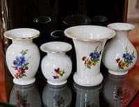 Набор вазочек 4 предмета Бельведер