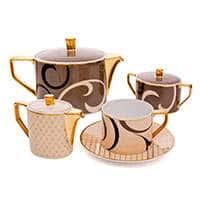 Шахерезада Чайный сервиз Rosenthal 320 мл на 6 персон 21 предметов